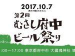 むさし府中ビール祭り2017 ロゴ