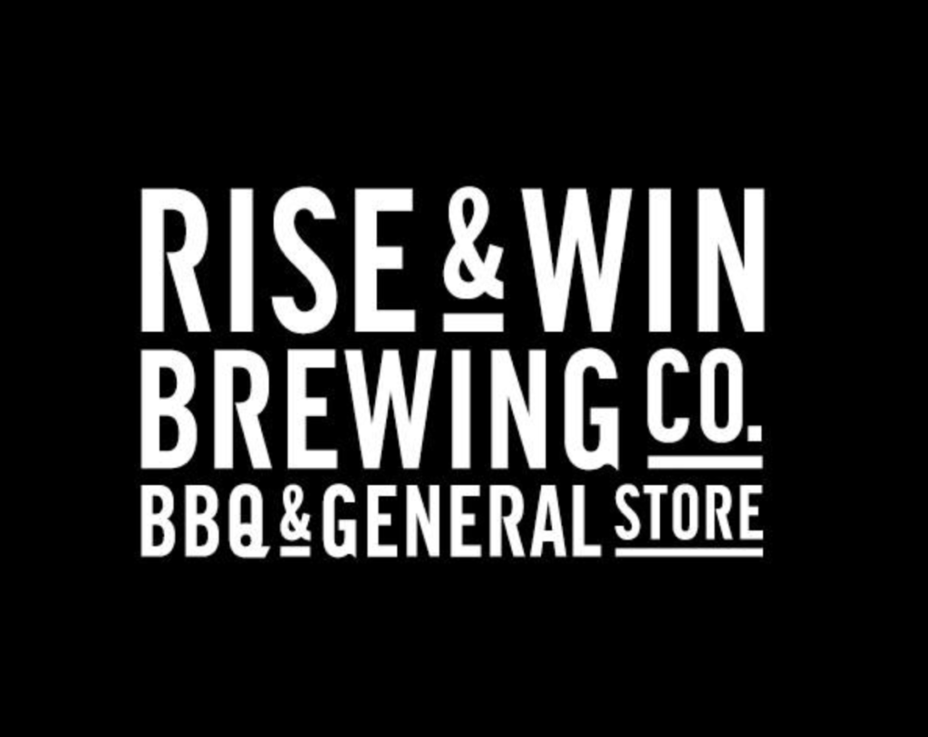RISE & WIN Brewing co.(ライズ アンド ウィン)ロゴ