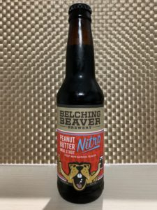 BELCHING BEAVER BREWERY(PEANUT BUTTER MILK STOU NITRO)その1