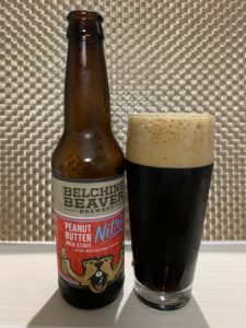 BELCHING BEAVER BREWERY(PEANUT BUTTER MILK STOU NITRO)その2