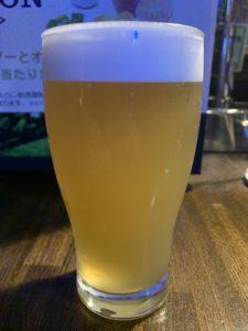 箕面ビール(桃ブリュット2019)