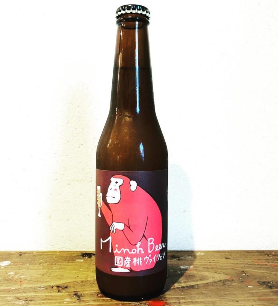箕面ビール(桃ヴァイツェン(早生ボトル))