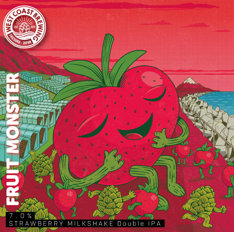 West Coast Brewing(FRUIT MONSTER)_イメージ1