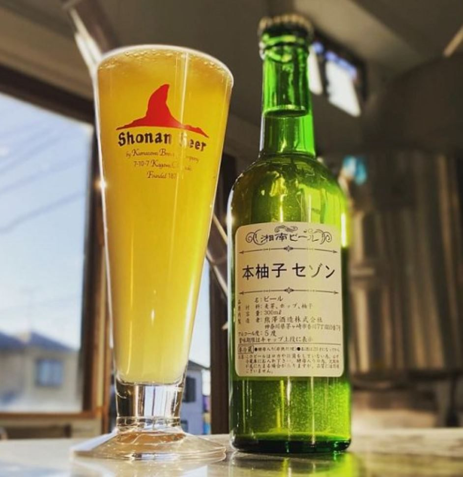 湘南ビール(本柚子セゾン/2021)_イメージ01