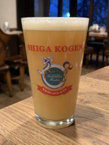 志賀高原ビール(信州事変/Apple IPA)