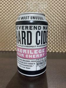 Reverend Nat's Hard Cider(Sacrilege Sour Cherry)_缶01