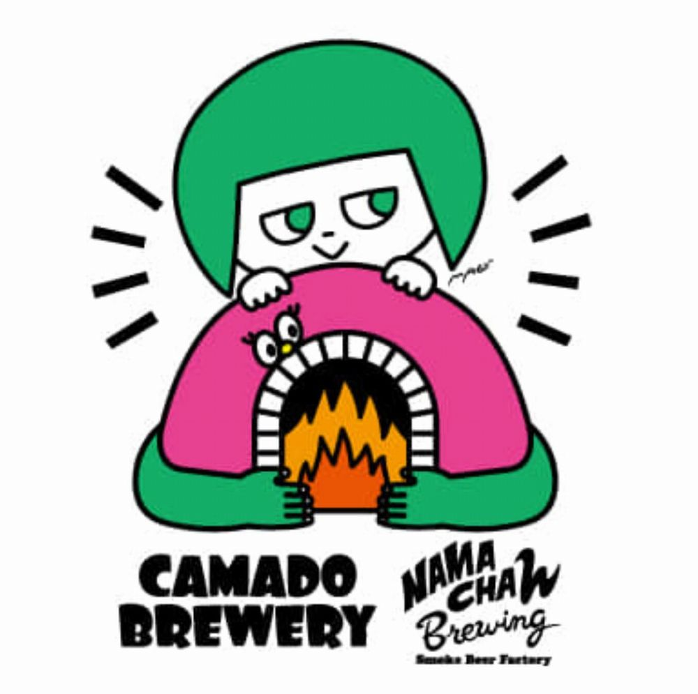 カマドブリュワリー × Namachaん Brewing(ロゴ)_01new