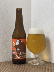 箕面ビール×タカムラコーヒーロースターズ(コーヒーIPA/2021)_ボトル02