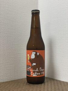 箕面ビール×タカムラコーヒーロースターズ(コーヒーIPA/2021)_ボトル01