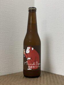 箕面ビール(桃ヴァイツェン清水白桃Ver.)/2021)_ボトル01